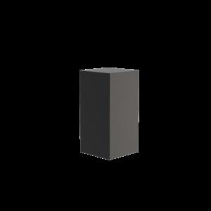 Adezz Producten Adezz Sokkel Aluminium Vierkant 50x50x100cm
