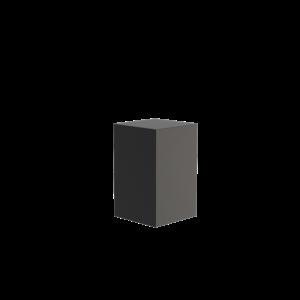 Adezz Producten Adezz Sokkel Aluminium Vierkant 50x50x80cm