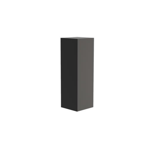 Adezz Producten Adezz Sokkel Aluminium Vierkant 40x40x120cm