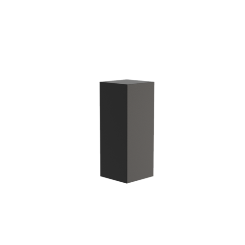 Adezz Producten Adezz Sokkel Aluminium Vierkant 40x40x100cm