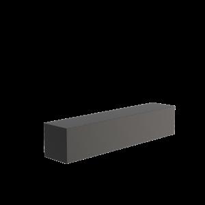 Adezz Producten Adezz Sokkel Aluminium Rechthoek 200x40x40cm