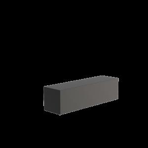 Adezz Producten Adezz Sokkel Aluminium Rechthoek 150x40x40cm