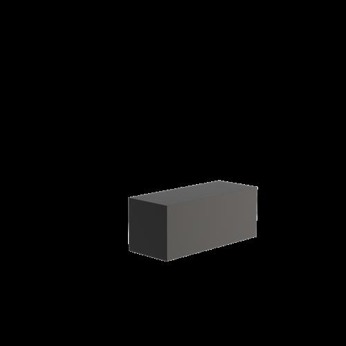 Adezz Producten Adezz Sokkel Aluminium Rechthoek 100x40x40cm