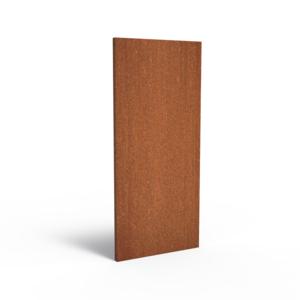 Adezz Producten Adezz Tuinpaneel Cortenstaal Dicht paneel 80x5x180cm