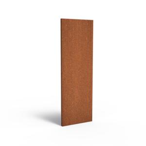 Adezz Producten Adezz Tuinpaneel Cortenstaal Dicht paneel 60x5x180cm