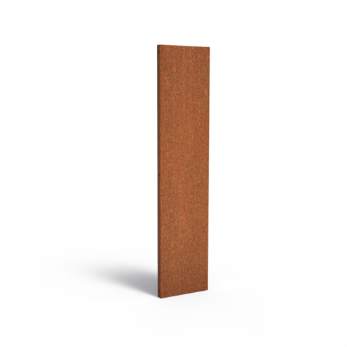 Adezz Producten Adezz Tuinpaneel Cortenstaal Dicht paneel 40x5x180cm