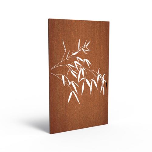 Adezz Producten Adezz Tuinpaneel Cortenstaal Wilg 110x5x180cm