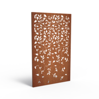 Adezz Tuinpaneel Cortenstaal Bladeren 110x5x180cm