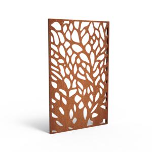 Adezz Producten Adezz Tuinpaneel Cortenstaal Gaten 110x5x180cm