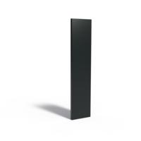 Adezz Tuinpaneel Aluminium Dicht paneel 40x5x180cm