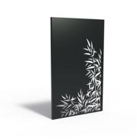 Adezz Tuinpaneel Aluminium Bamboe Rechts 110x5x180cm