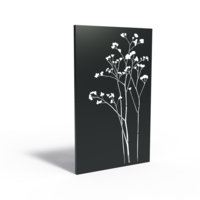 Adezz Tuinpaneel Aluminium Anemone 110x5x180cm