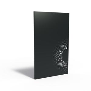 Adezz Producten Adezz Tuinpaneel Aluminium Zon eclips onder 110x5x180cm