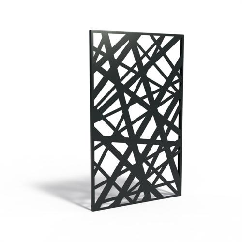 Adezz Producten Adezz Tuinpaneel Aluminium Strepen 110x5x180cm