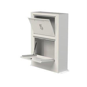 Adezz Producten Adezz Brievenbus Aluminium Paca 87x30x125cm