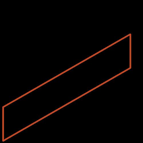 Adezz Producten Adezz Kantopsluiting Cortenstaal Recht (25 stuks) 2300x2x200mm