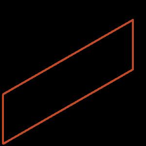 Adezz Producten Adezz Kantopsluiting Cortenstaal Recht (10 stuks) 2300x2x290mm