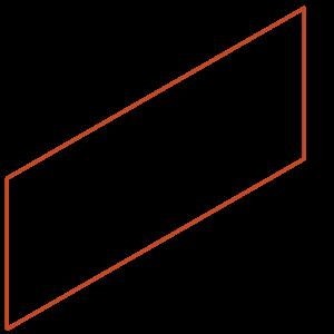 Adezz Producten Adezz Kantopsluiting Cortenstaal Recht (25 stuks) 2300x2x390mm
