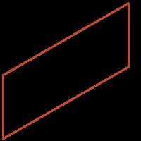 Adezz Kantopsluiting Cortenstaal Recht (10 stuks) 2300x2x390mm