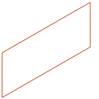 Adezz Kantopsluiting Cortenstaal Recht (10 stuks) 2300x3x390mm