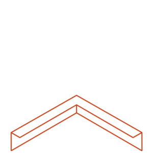 Adezz Producten Adezz Kantopsluiting Cortenstaal Hoek Gezet 30x30x10cm