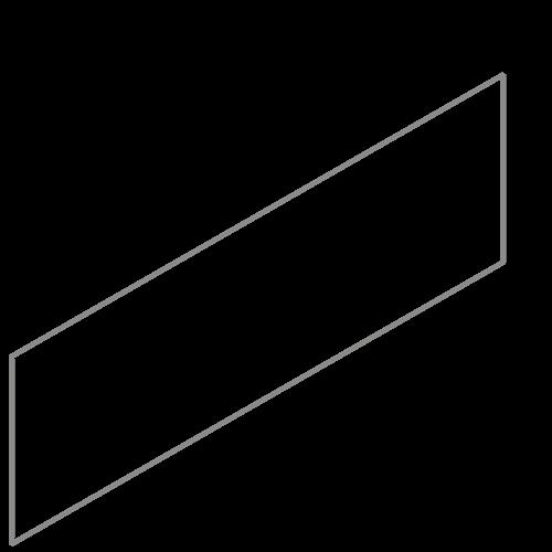 Adezz Producten Adezz Kantopsluiting Verzinkt Staal Recht (25 stuks) 2300x2x290mm