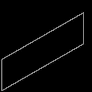 Adezz Producten Adezz Kantopsluiting Verzinkt Staal Recht (10 stuks) 2300x3x290mm