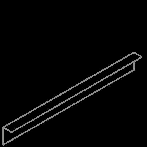 Adezz Producten Adezz Kantopsluiting Verzinkt Staal Gezet (25 stuks) 2300x2x100mm