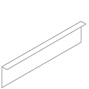Adezz Producten Adezz Kantopsluiting Verzinkt Staal Gezet (25 stuks) 2300x2x200mm
