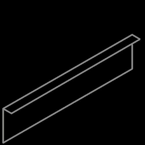 Adezz Producten Adezz Kantopsluiting Verzinkt Staal Gezet (10 stuks) 2300x2x200mm