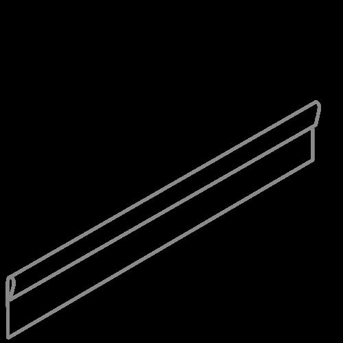 Adezz Producten Adezz Kantopsluiting Verzinkt Staal Geplet (10 stuks) 2300x2x150mm