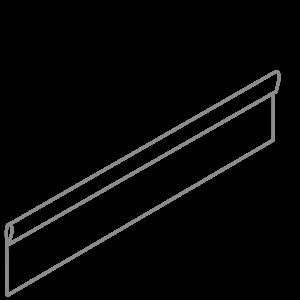 Adezz Producten Adezz Kantopsluiting Verzinkt Staal Geplet (10 stuks) 2300x3x200mm