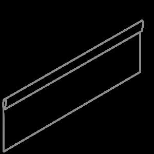 Adezz Producten Adezz Kantopsluiting Verzinkt Staal Geplet (10 stuks) 2300x2x290mm