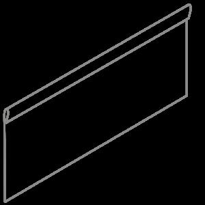 Adezz Producten Adezz Kantopsluiting Verzinkt Staal Geplet (25 stuks) 2300x2x390mm