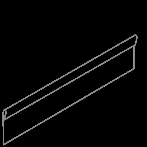 Adezz Producten Adezz Kantopsluiting Verzinkt Staal Geplet (10 stuks) 2300x2x200mm