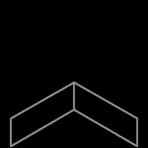 Adezz Producten Adezz Kantopsluiting Verzinkt Staal Hoek Recht 30x30x15cm
