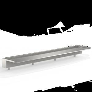 Adezz Producten Adezz Waterval 1500 (Uitstroom 150mm) 150x10x2cm