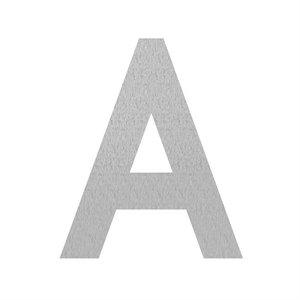 Adezz Producten Adezz Huisnummer Letter A Verzinkt Staal 75x5x90mm