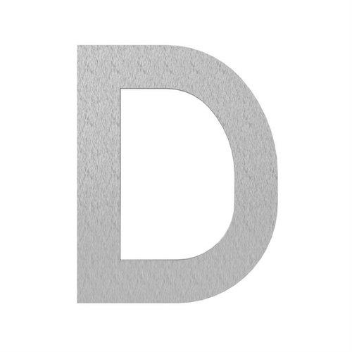 Adezz Producten Adezz Huisnummer Letter D Verzinkt Staal 70x5x90mm