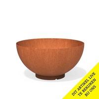 Adezz Waterbowl Cortenstaal 120x61cm