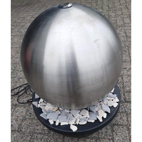 Waterbol set RVS 60cm