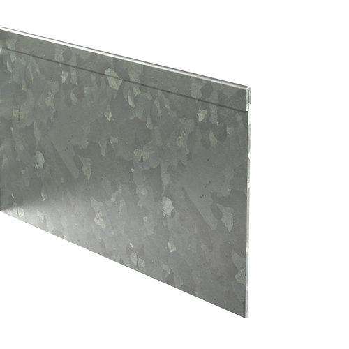 Adezz Producten Adezz Kantopsluiting Verzinkt Staal Geplet (10 stuks) 2300x2x100mm