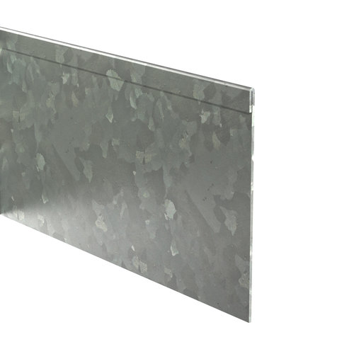 Adezz Producten Adezz Kantopsluiting Verzinkt Staal Geplet (25 stuks) 2300x2x200mm