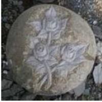 Siersteen rozen 25cm