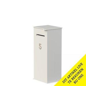Adezz Producten Adezz Brievenbus Aluminium Case 50x40x120cm
