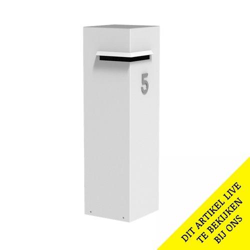 Adezz Producten Adezz Brievenbus Aluminium Ivar 35x35x120cm