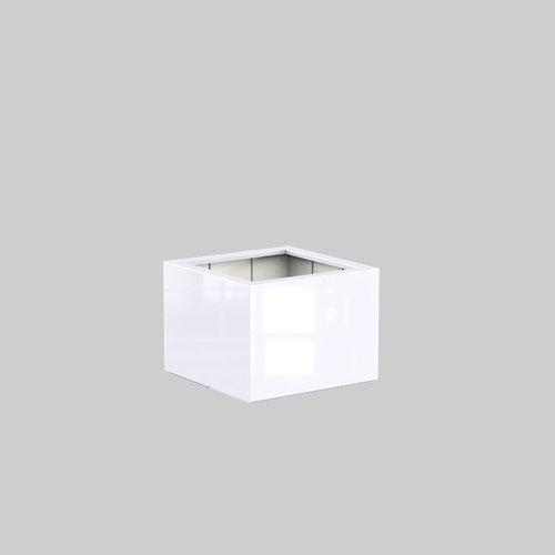 Adezz Producten Plantenbak Polyester Hoogglans Vierkant Buxus 80x80x60cm