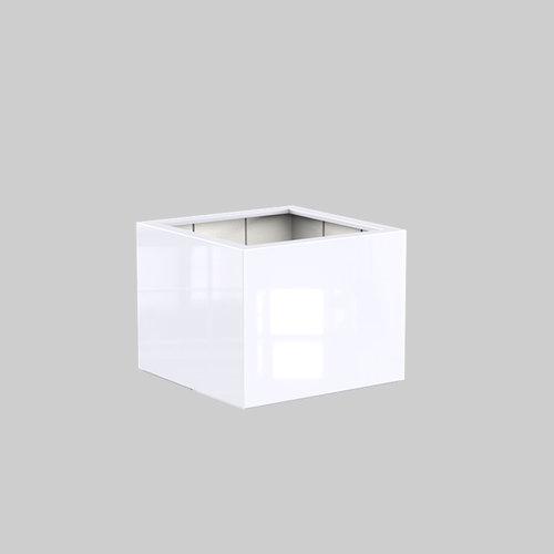 Adezz Producten Plantenbak Polyester Hoogglans Vierkant Buxus 100x100x80cm
