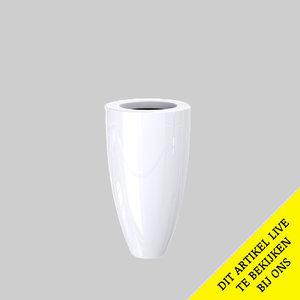 Adezz Producten Plantenbak Polyester Hoogglans Rond Canna 50x90cm