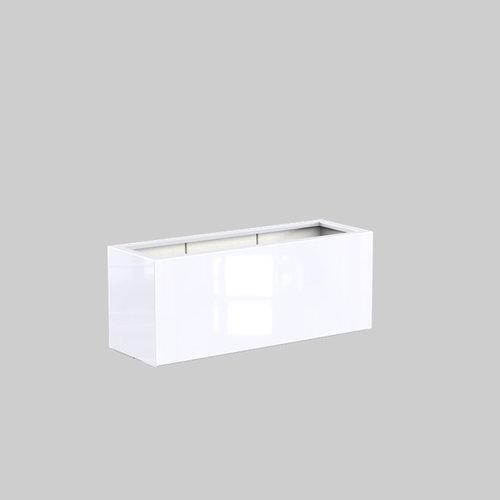 Adezz Producten Plantenbak Polyester Hoogglans Rechthoek Buxus 150x50x60cm